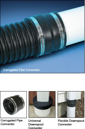 Corrugated Pipe And Downspout Connectors Source 1