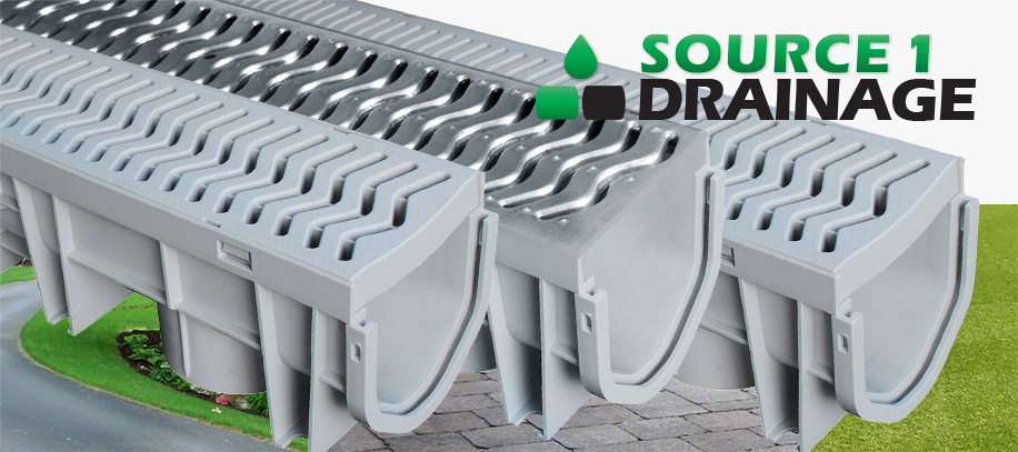 Source 1 Drainage - Channel Drains - Water Management Systems by Source 1 Environmental