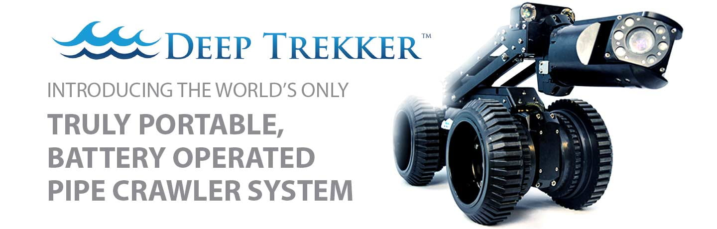 Deep Trekker - World's Only Truly Portable, Battery Operated, Pipe Crawler System