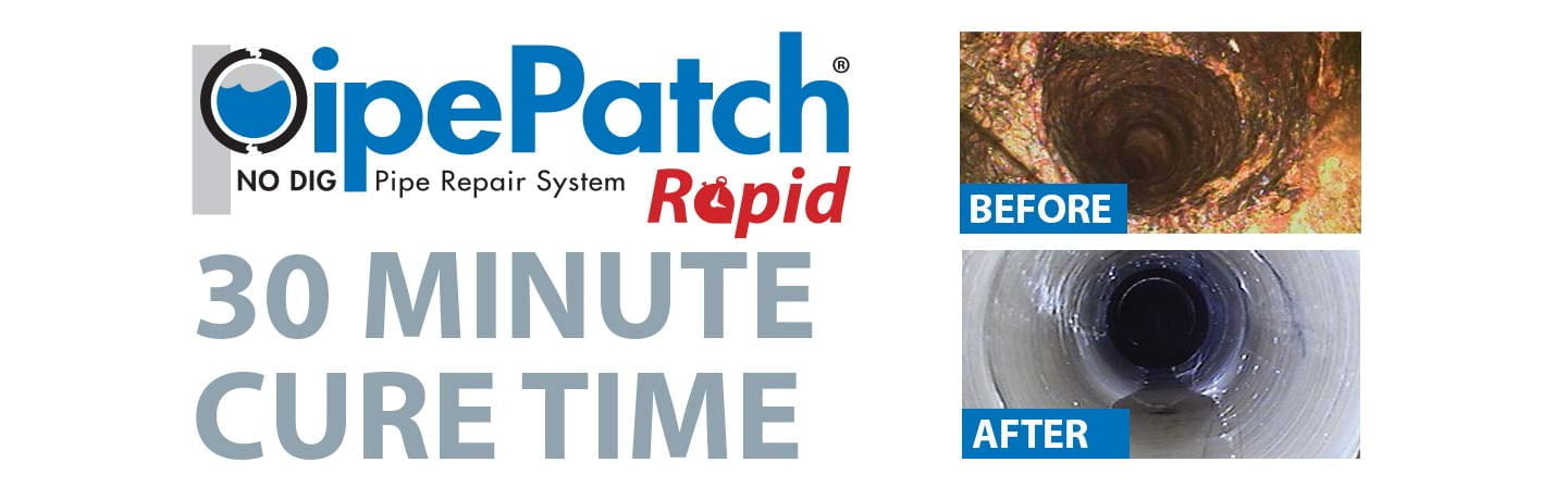 PipePatch Rapid Repair System - Fast Cure