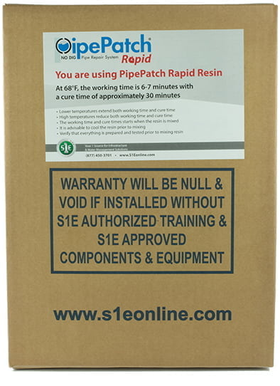 PipePatch Rapid Repair System - Resin Package