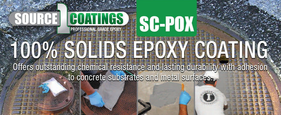 Source 1 Coatings - SC-POX - 100% Solids Epoxy Coating