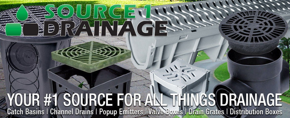 Source 1 Drainage - Your #1 Source For All Things Drainage