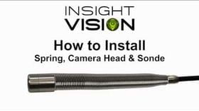 How to Install the Sonde, Spring and Camera Head - Insight | Vision